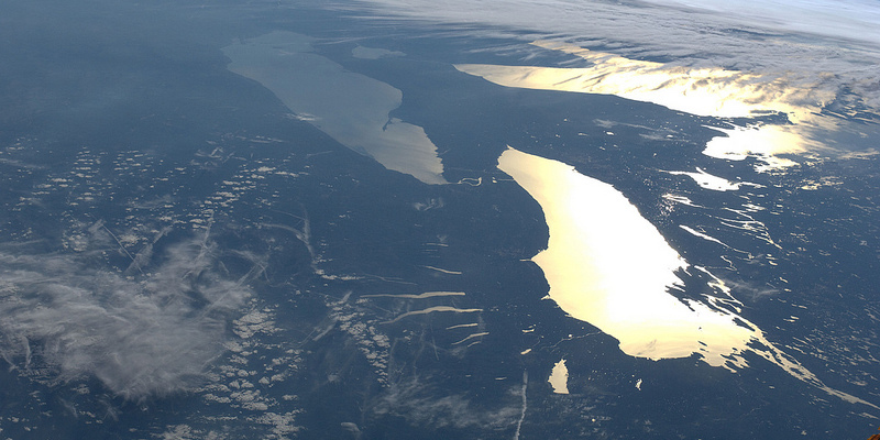 Bird's Eye View of the Great Lakes