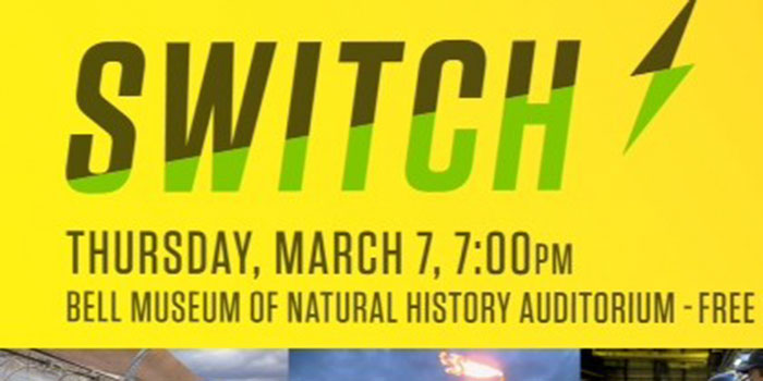 a poster for the film showing of Switch
