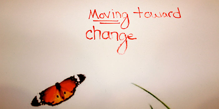 Moving Toward Change graphic