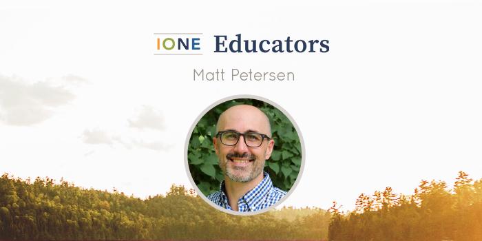 Portrait of Matt Petersen smiling