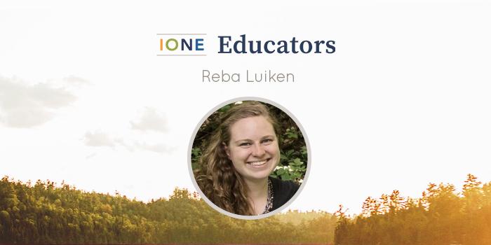 Portrait of Reba Luiken smiling