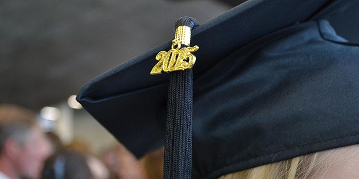 2015 graduation cap