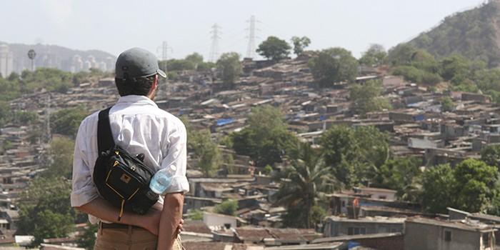 Brian Bell of Acara overlooks an Indian Village