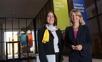 Hari Osofsky and Ellen Anderson of Energy Transition Lab