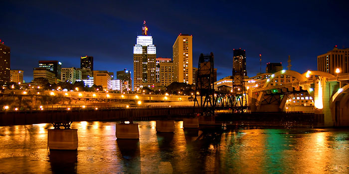 St. Paul Skyline, sustainable cities