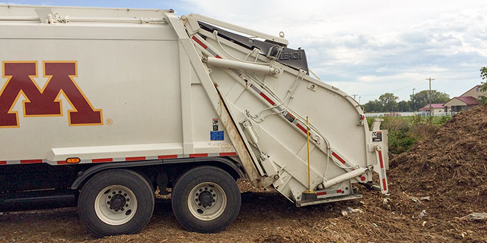 University Garbage Truck