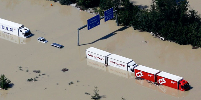 flooding affects the supply chain