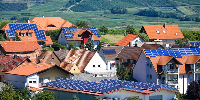 A small village in Germany