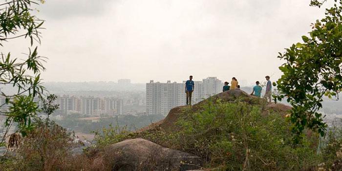 Foggy Morning in Bangalore, India
