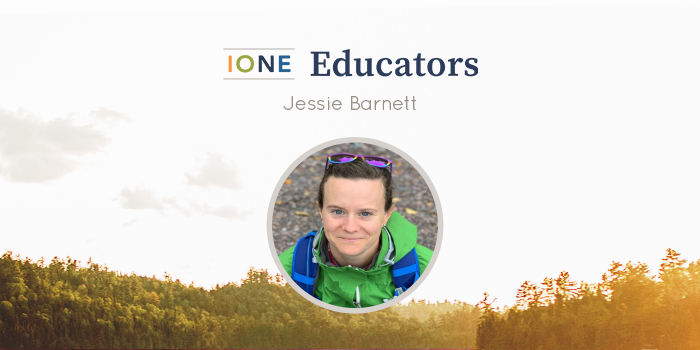 Portrait of Jessie Barnett smiling