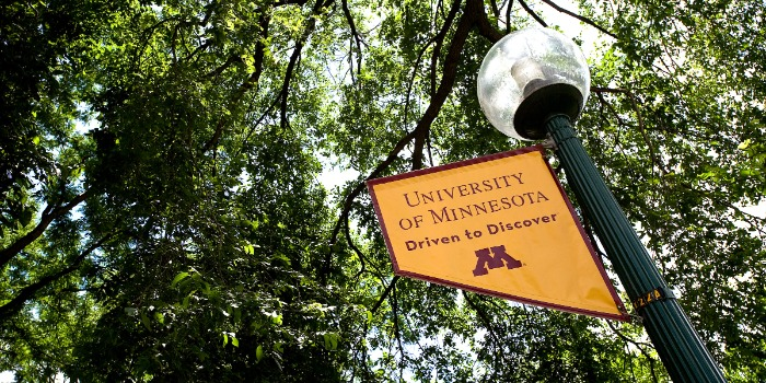 University of Minnesota Driven to Discover banner
